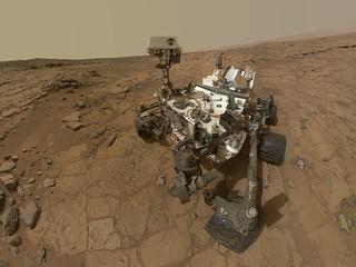 Curiosity Rover's Self Portrait at 'John Klein...