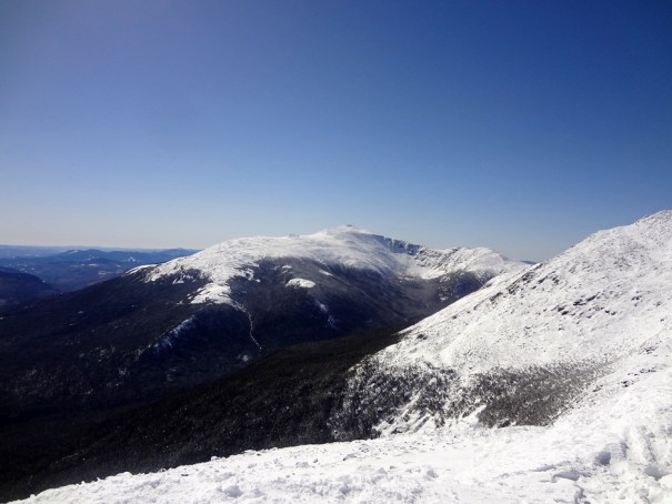 Mt. Washington in Winter from Mt. Madison on the Appalachian Trail.