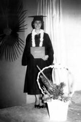 Gloria Borja Graduation, 1955