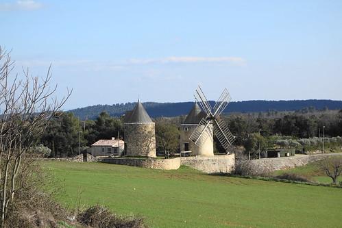 Les moulins de Régusse 15ème siècle