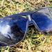 Solglasögon med repor