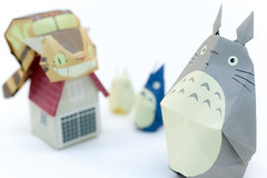 """Totoro origami 1 • <a style=""""font-size:0.8em;"""" href=""""http://www.flickr.com/photos/66379360@N02/8670599437/"""" target=""""_blank"""">View on Flickr</a>"""
