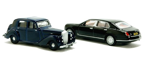 Oxford Bentley Mk.IV & Mulsanne