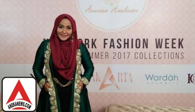 #Style: Anniesa Hasibuan Wakili Indonesia di New York Fashion Week