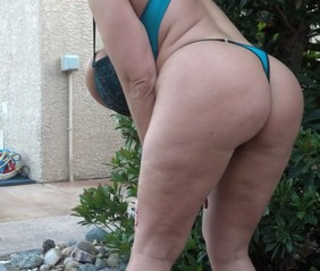 Claudia Marie Fat Round White Ass