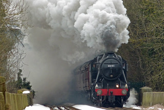 48151 The Welsh Borders Steam Special Approach...