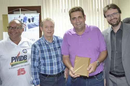 Gregório da Retífica, José Maria Facundes, Dr. Marcos Vinícius e o advogado Maurisson de Morais - Foto Emmanuel Franco (4)