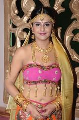 South Actress CHARULATHA Hot Photos Set-2- at Sri Ramanujar film shooting (9)
