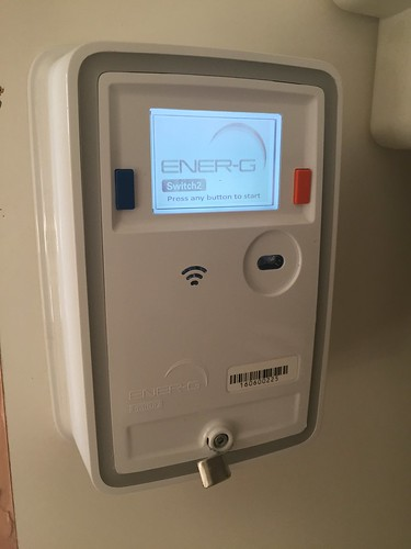 Today is all about...new meter = heating/hot water being reconnected after a week without it