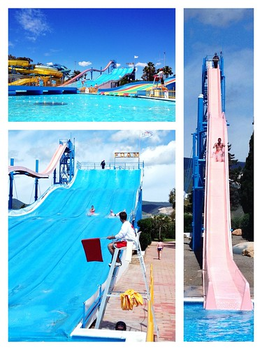Today is all about...trip to the aqua park