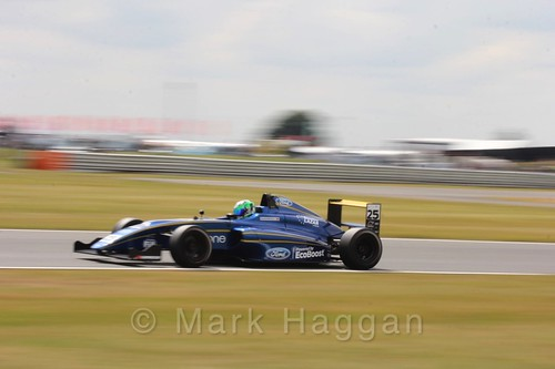 Alexandra Marinescu in British Formula 4 during the BTCC 2016 Weekend at Snetterton