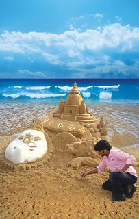 Sand Art By Sudam Pradhan