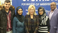 """Ron, Volunteers and Mayor-elect Bonnie Crombie • <a style=""""font-size:0.8em;"""" href=""""http://www.flickr.com/photos/95310279@N08/16094546638/"""" target=""""_blank"""">View on Flickr</a>"""