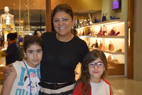 Sheila com os netos