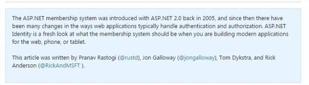 ASP.Net Identity vs ASP.Net Membership system