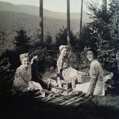 #Picknick im #Wald  #FamilieD