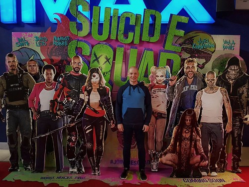 Today is all about...Suicide Squad