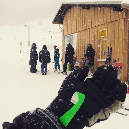 Akkreditierungsbändchen am #Ski lift #Menzenschwand im #Schwarzwald wie bei den #Piraten