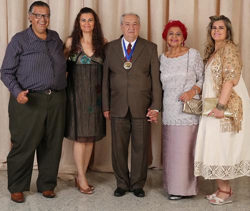 José Vieira Zanela e familiares