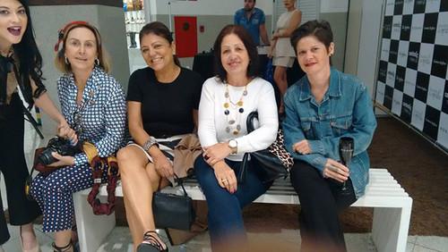 Eu com Amanda, Sheila, Lelena e Paulinha