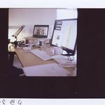 "my desk <a style=""margin-left:10px; font-size:0.8em;"" href=""http://www.flickr.com/photos/22883207@N00/16191890501/"" target=""_blank"">@flickr</a>"