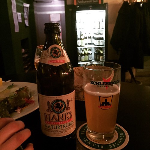 BLANKs Naturtrübes #Bier Im #SCHLESINGER @ #Stuttgart #0711