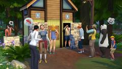 Les Sims 4 destination aventure toilettes