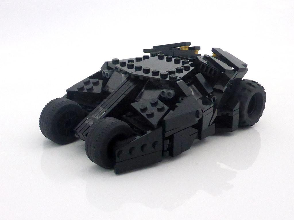 Batman Begins Tumbler Toy