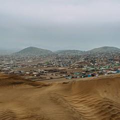 Enter Lima. The eight million man sprawl begins. #theworldwalk #travel #peru