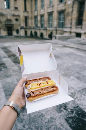 L'Eclair de Genie, comidinha express embalada e com sabor que você leva pra comer em casa