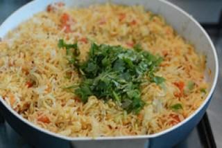 tomato rice recipe, south indian style tomato rice recipe-10