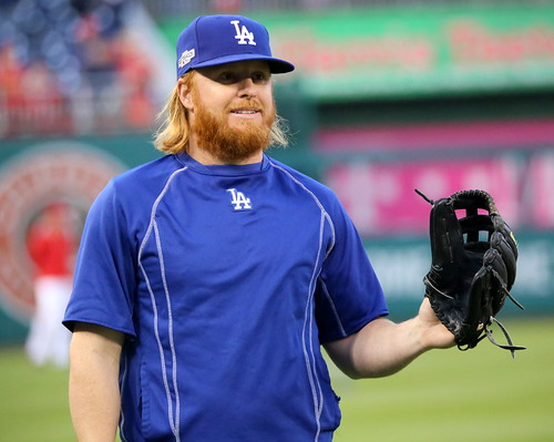 Dodgers infielder Justin Turner works ou by apardavila, on Flickr