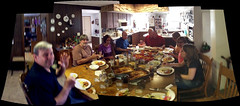 Johnson Farms family dinner