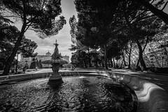 Madrid - Jardines de Sabatini