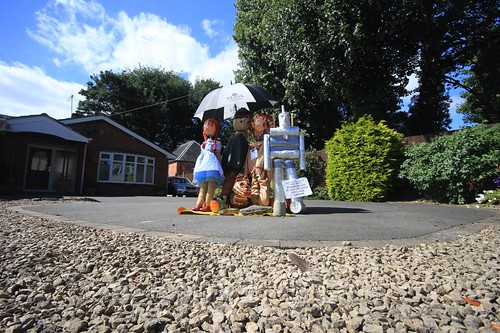 Wizard of Oz at the Heather Scarecrow Festival 2016