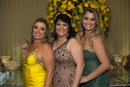Marília Gama, Shirley Góes e Débora Carvalho