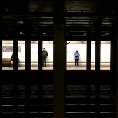 Metro #nyc #newyork #lights #shadows