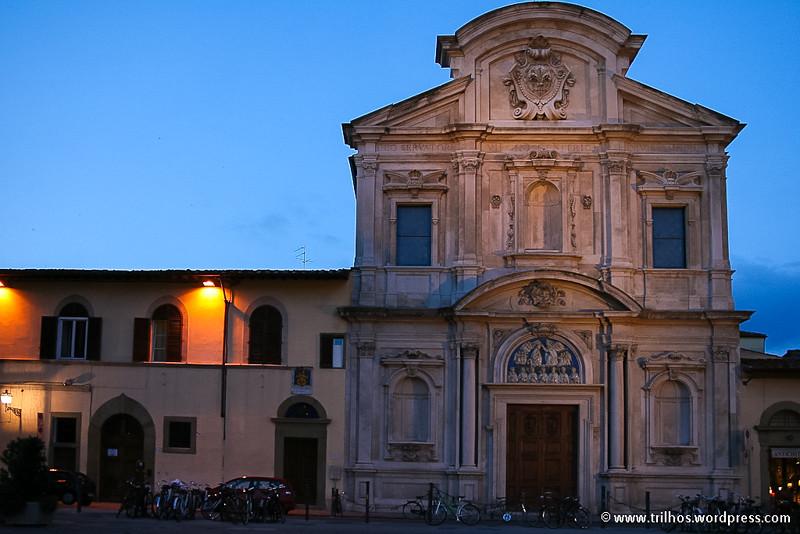 Florença - igreja de Ognissanti