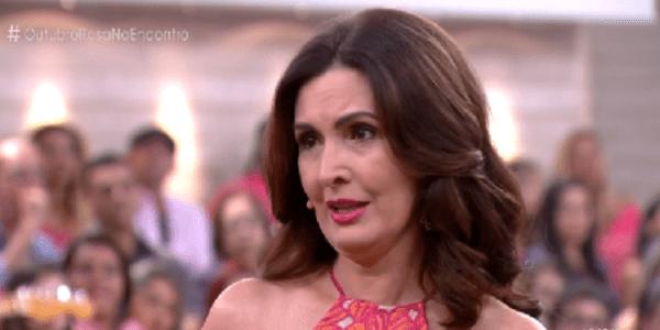 Fátima Bernardes se emociona com história de mulher que superou câncer