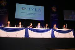Global Peace Paraguay 2014 IYLA Panel Shot