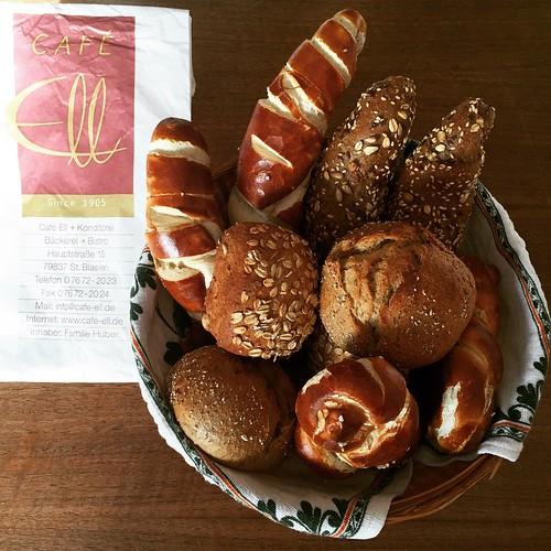 Beste #Backware vom #Café Ell in #StBlasien Süd #Schwarzwald
