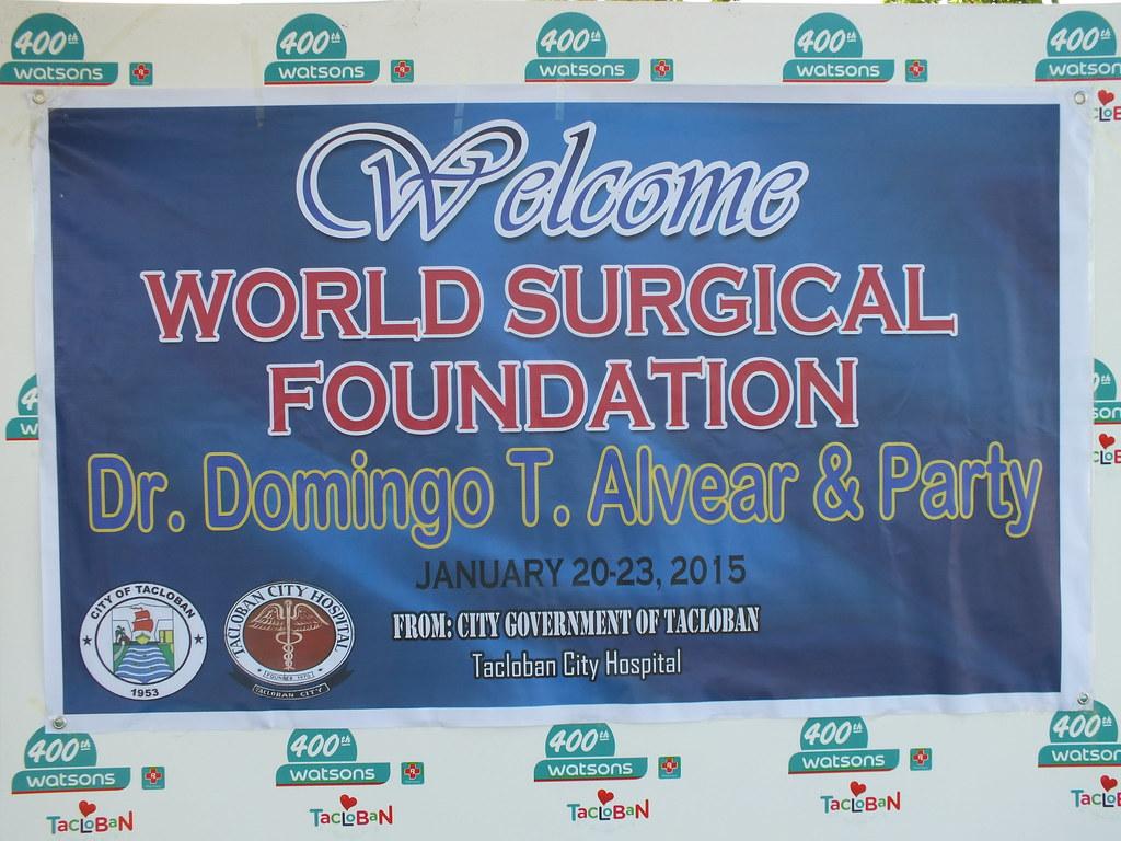 2015 Tacloban City Hospital Visit