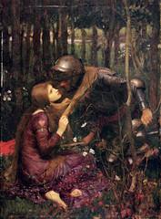 "John William Waterhouse ""La Belle Dame Sans Merci"" 1893"