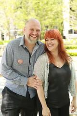Peter and Sharon Barney