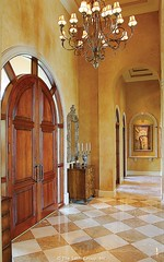 Custom Luxury Home - Entry