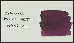 Diamine Music Set Handel - Word Card