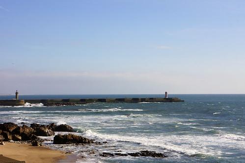 Porto - Atlantique - Phare de la Dame de Lumière
