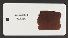 Noodler's Beaver - Word Card