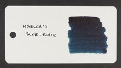 Noodler's Blue-Black - Word Card