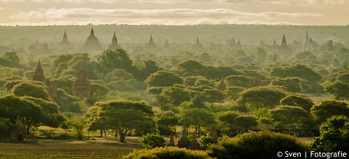 Bagan; tempels everywhere!